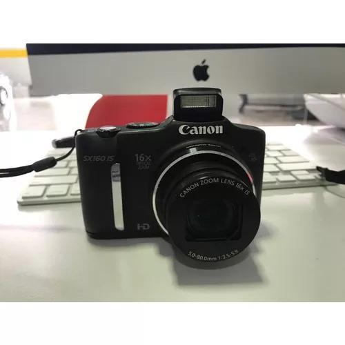 Câmera canon sx 160 is super novo !!