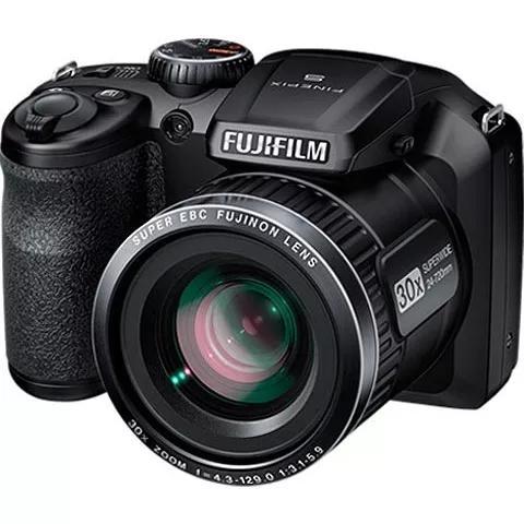 Câmera fotografica fujifilm finepix s4800 preto com zoom