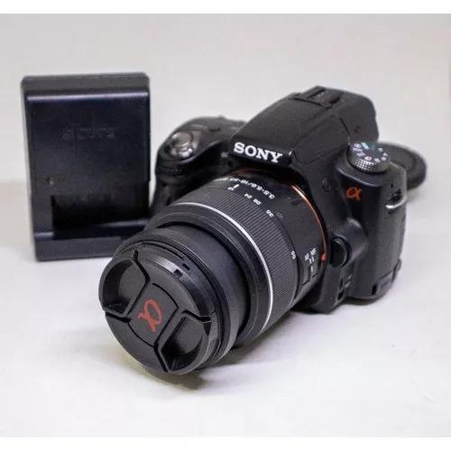 Câmera fotográfica sony alpha a33 usada boas condições