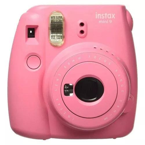 Câmera fuji instax mini 9 instantanea original polaroid