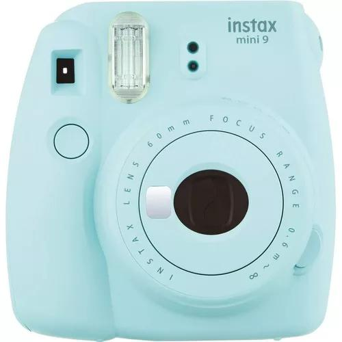 Câmera fuji instax mini 9 original instantanea polaroid