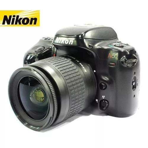 Câmera nikon n50 c/ lente nikon zoom 28-80mm af -