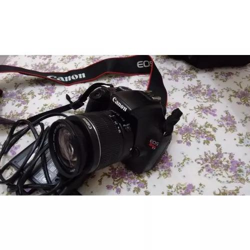 Câmera profissional canon eos rebel t3+lentes18-55mm+