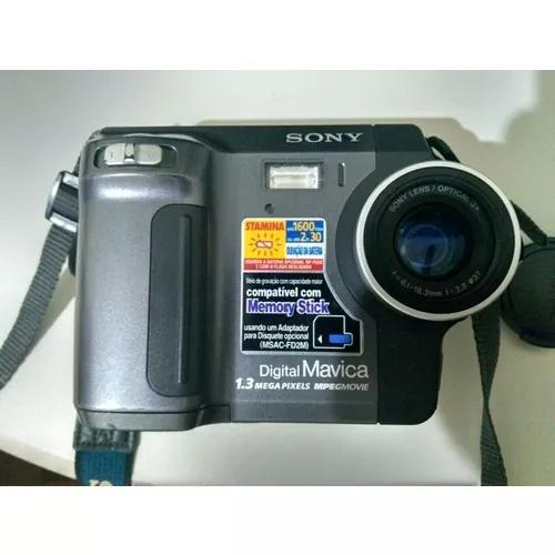 Câmera sony digital mavica 1.3mp