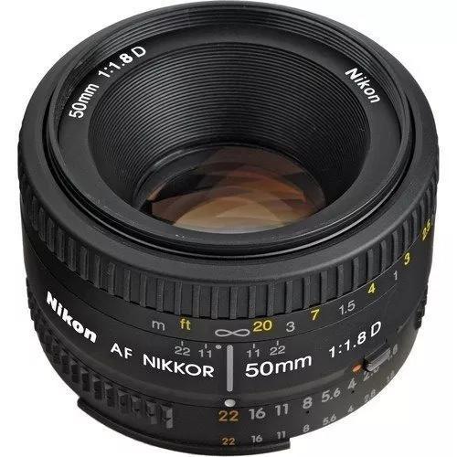 Lente nikon 50mm af f/1.8d fx pronta entrega