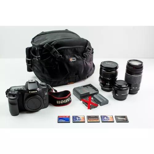 Maquina fotografica canon 50d + lentes 28-135 50 75-300