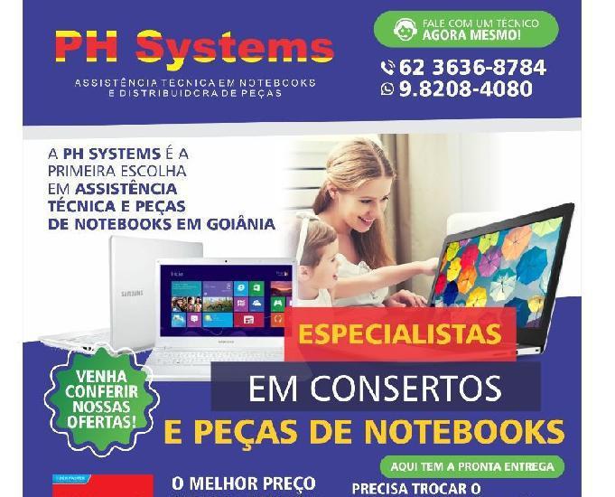Ph systems - assistência técnica em notebooks em goiânia