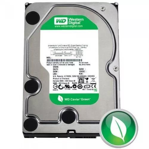 Hd 500 gb sata 3 6gb/s western digital blue ou green nota