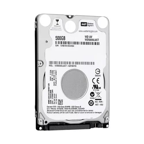 Hd disco rigido notebook 500gb western digital sata
