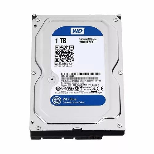 Hd interno 1tb western digital blue sata 3 7200rpm 1000gb wd