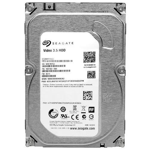 Hd Interno Seagate Para Dvr Sata 2tb Video 3.5 Hdd 5900rpm