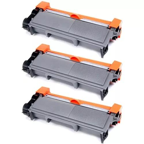 Kit 3x toner compatível para brother l2740dw 2740dw l2740