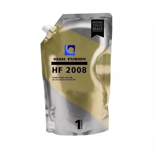 Pó toner high fusion ce435 ce436 ce278 ce285 1kg hf2008