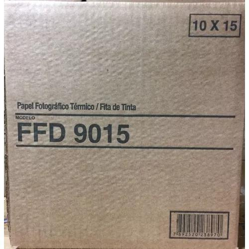 Papel ffd9015 para impressora mitisubishi 9500dw-s 9550dw-s
