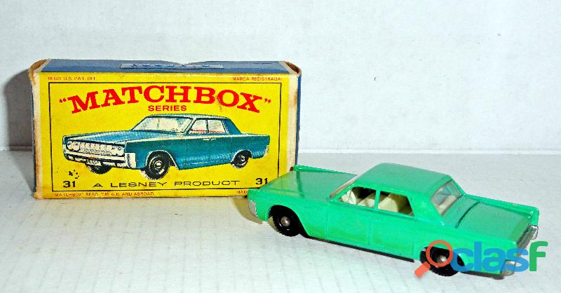 Lincoln continental.matchbox.na caixa original.