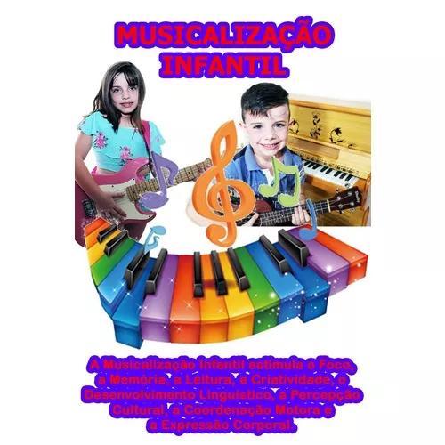 Apostila completa musicalização infantil + suporte via