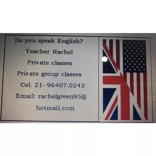 Aulas particulares de inglês online ou presencial -meier rj