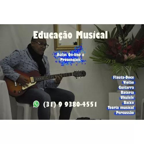 Aulas particulares de violão. online e presencial