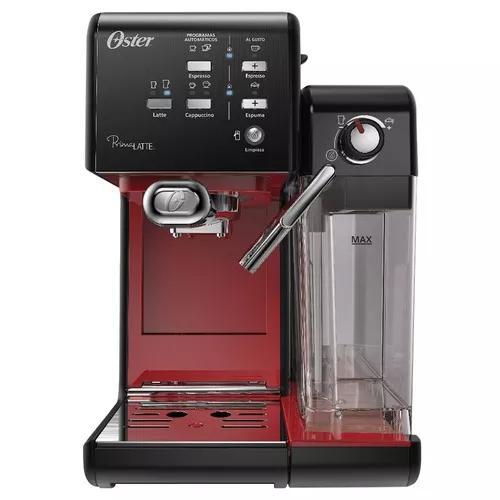 Cafeteira espresso oster primalatte ii red - 220v