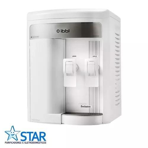 Filtro - purificador de água ibbl fr600 exclusive - branco