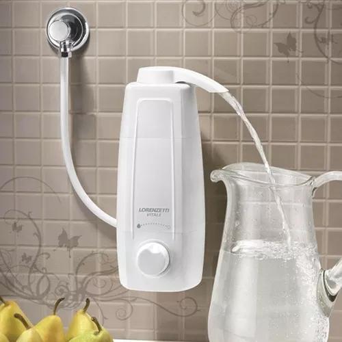 Filtro purificador de água lorenzetti vitale