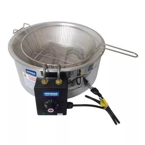 Fritadeira elétrica industrial alumínio 7 litros 110v 4109