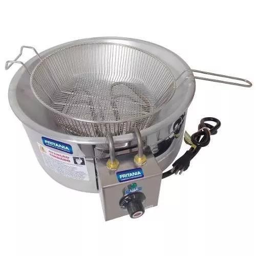 Fritadeira elétrica tacho alumínio cv45 7 litros 220v 2062