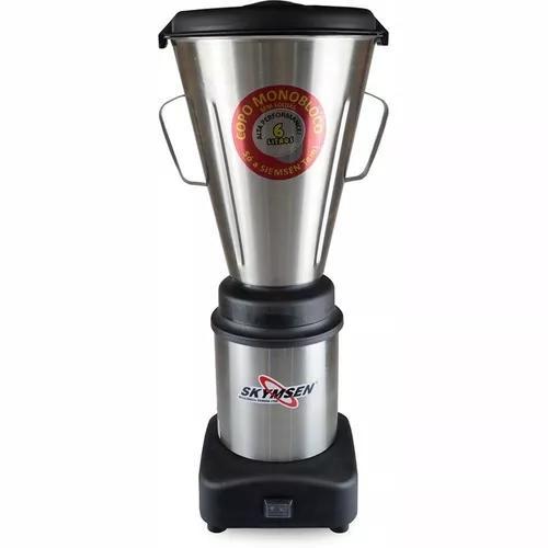 Liquidificador comercial ls-06mb-n 6l inox 220v - skymsen