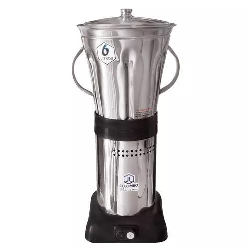Liquidificador industrial 6 litros baixa rotação massas