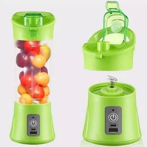 Liquidificador mini portátil shake eletrico juice cup + usb