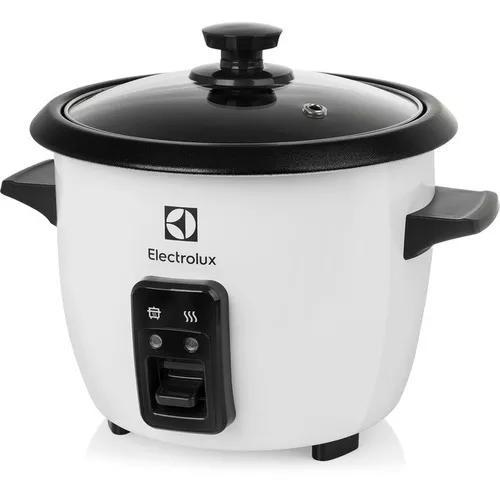 Panela eletrica de arroz electrolux legumes vapor 1,3 litros