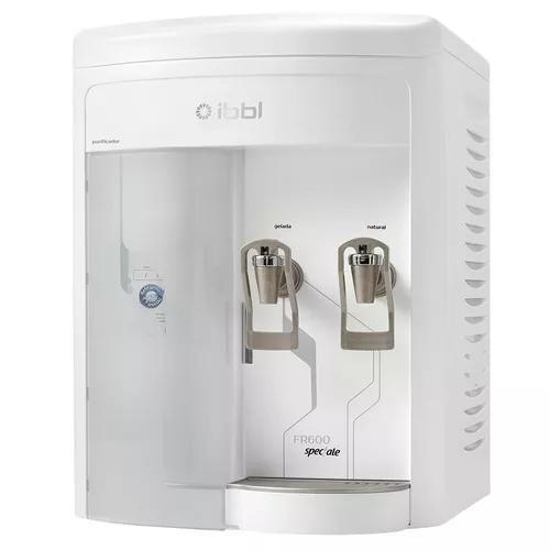 Purificador de água compressor ibbl fr600 speciale branco