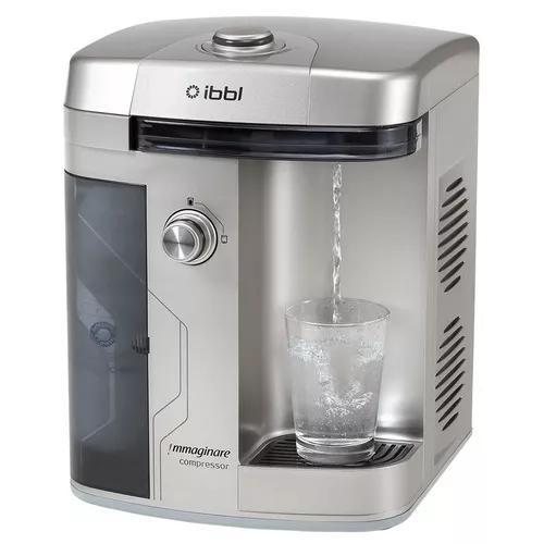 Purificador de água ibbl immaginare refrigerado prata 127v