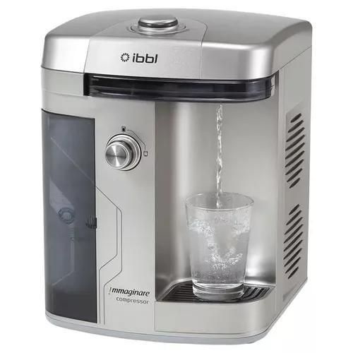 Purificador de água refrigerado ibbl immaginare prata 110v