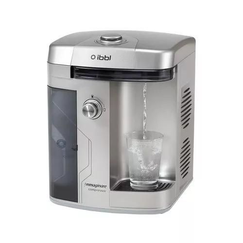 Purificador de água refrigerado ibbl immaginare prata 220v