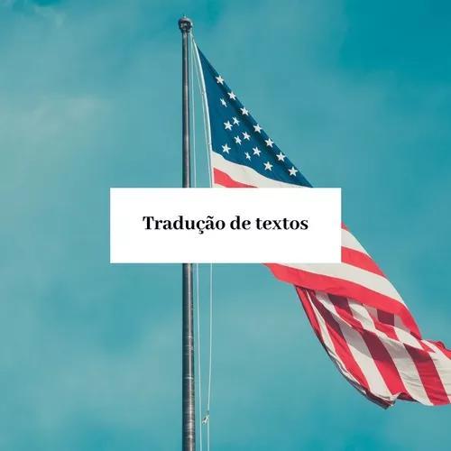 Traduções: inglês/português