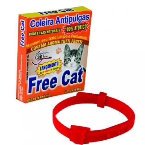 3 coleiras anti pulga para gatos, cachorros porte de pequeno