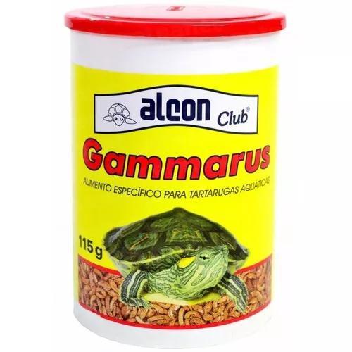 Alcon gammarus 115 g - raçao tartaruga camarao