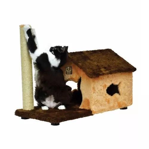 Arranhador casinha fit casa house para gatos