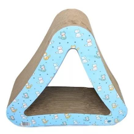 Arranhador Triangulo Para Gatos Toca