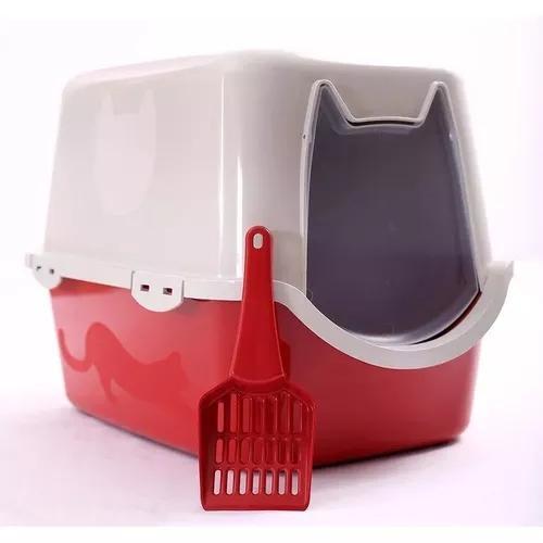 Banheiro gato toalete sanitário wc 52x40x40 duracats com