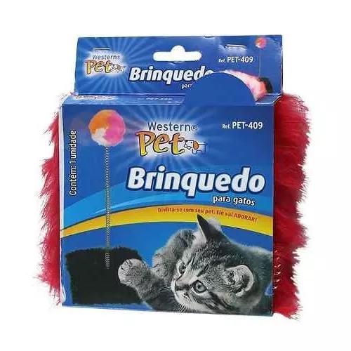 Brinquedo gato pet western 409 arranhador