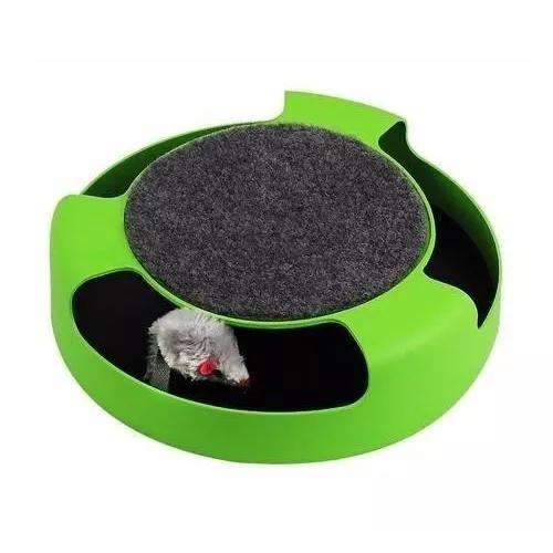 Brinquedo para gato simula pegar um rato estimule seu gato