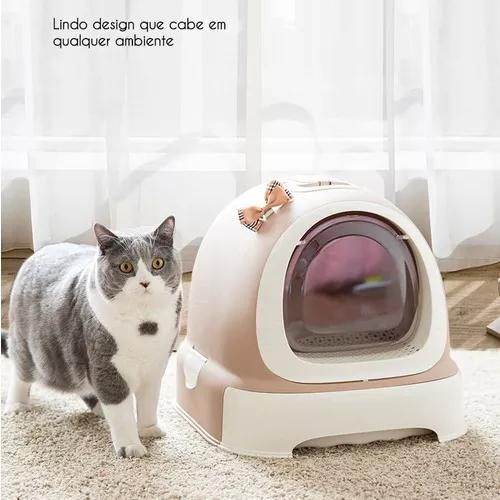 Caixa De Areia Fechada Para Gatos Luxo
