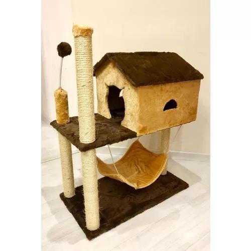 Casa com rede gato grande