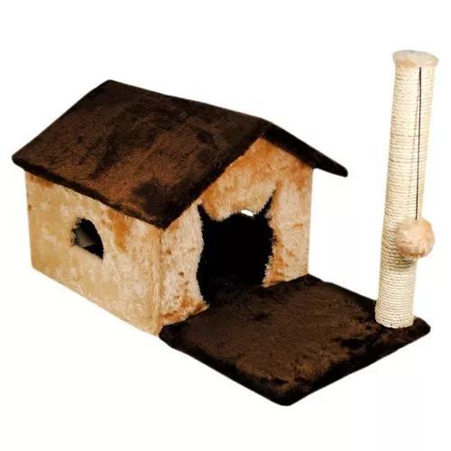 Casa para gatos house fit com arranhador e sisal gato