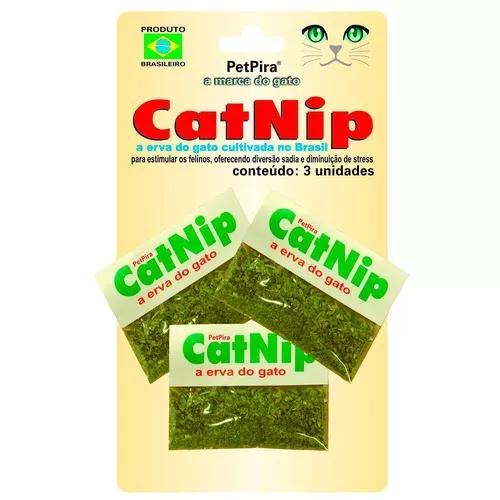 Catnip para gatos petpira a erva do gato
