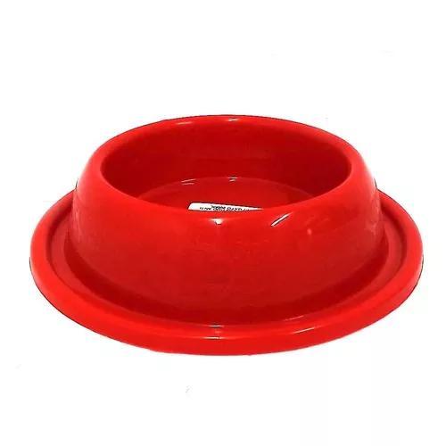 Comedouro plástico gato anti-formiga 200ml - vermelho