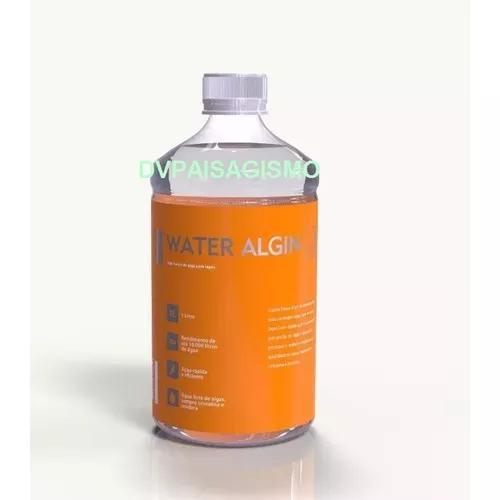 Cubos algicida water algin 1 litro- lagos ornamentais