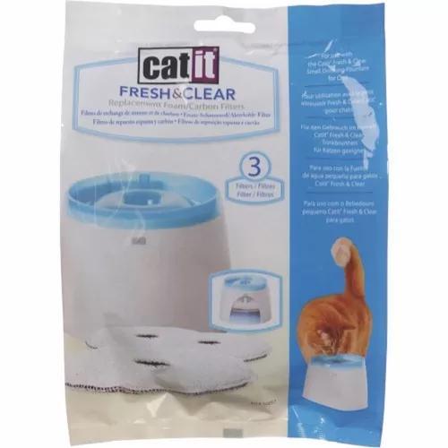 Filtro para fonte gatos catit cat it 2 litros